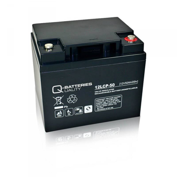 Rechargeable Battery 50 Ah, 12V