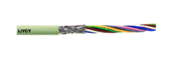 Cable including connector mounting